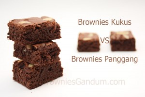 Brownies Kukus VS Brownies Panggang