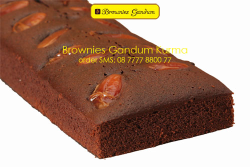 Brownies Gandum Kurma