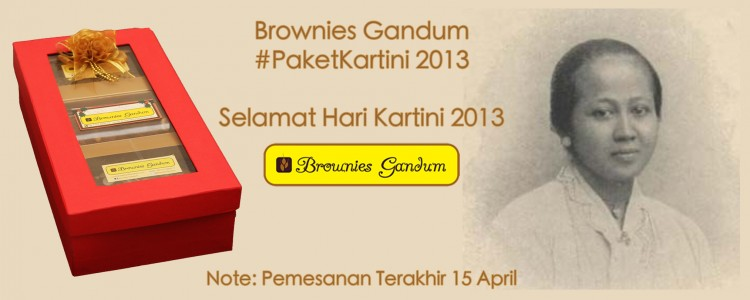 Brownies Gandum Paket Kartini